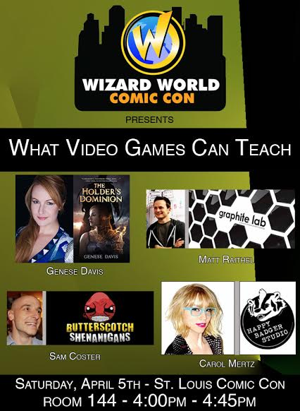 Carol Mertz at Wizard World