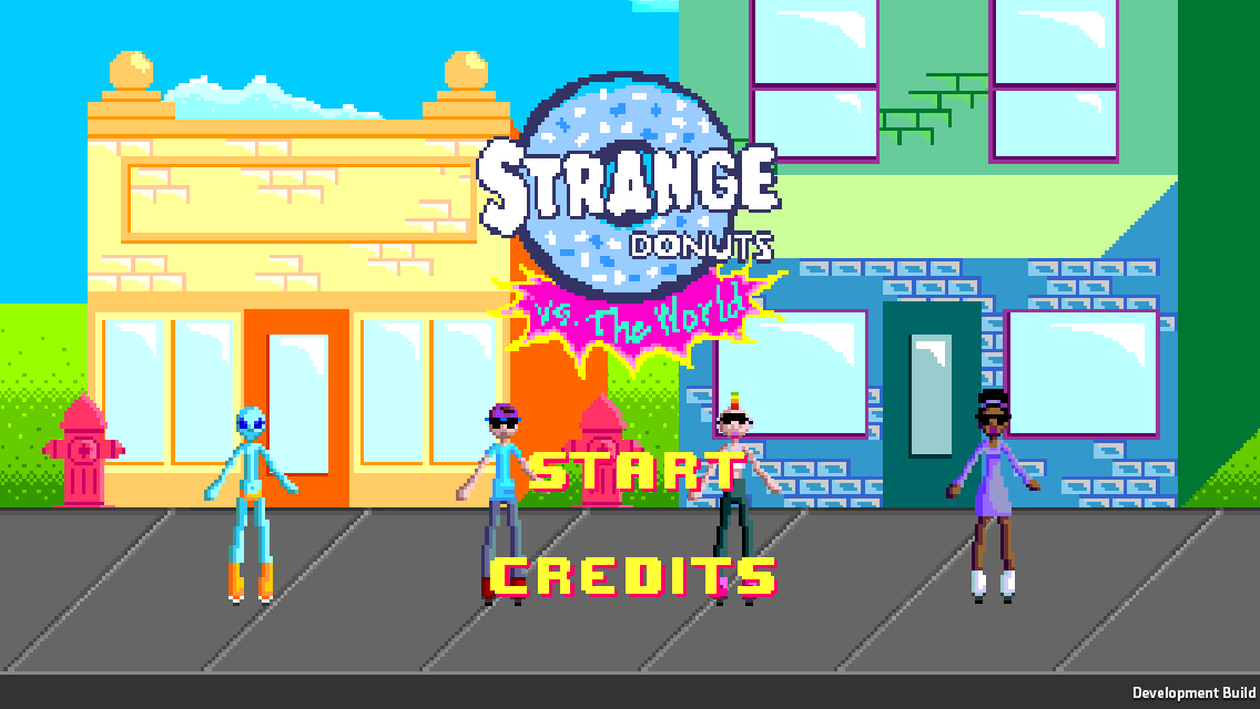 Strange Donuts Screenshot
