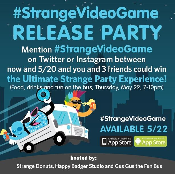 #strangevideogame release party