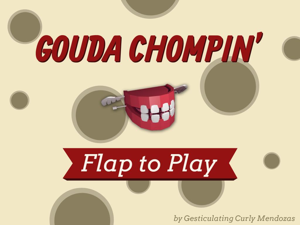 Gouda Chompin' titlescreen